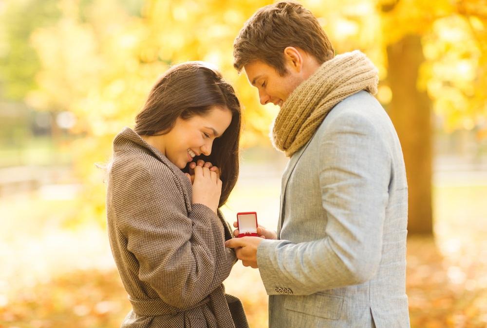 wedding proposal rings diamond